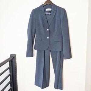 Calvin Klein Grey Pant Suit Blazer Women 4